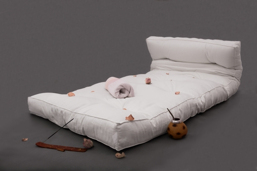 květinový futon
