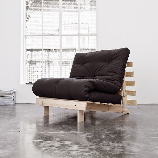 sofa root raw 90 s futonem black