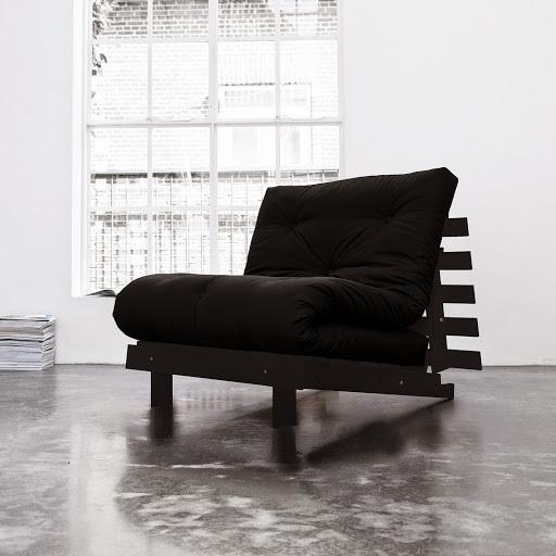 sofa root wenge 90 s futonem black