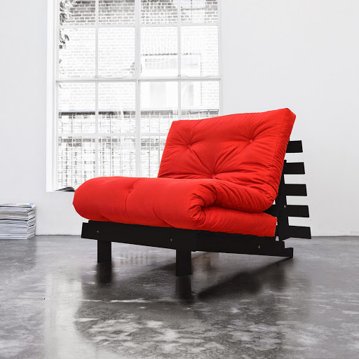 sofa root wenge 90 s futonem red