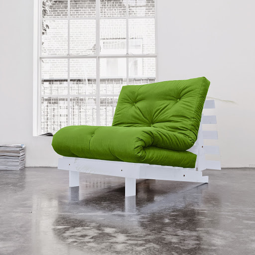 sofa root white 90 s futonem lime