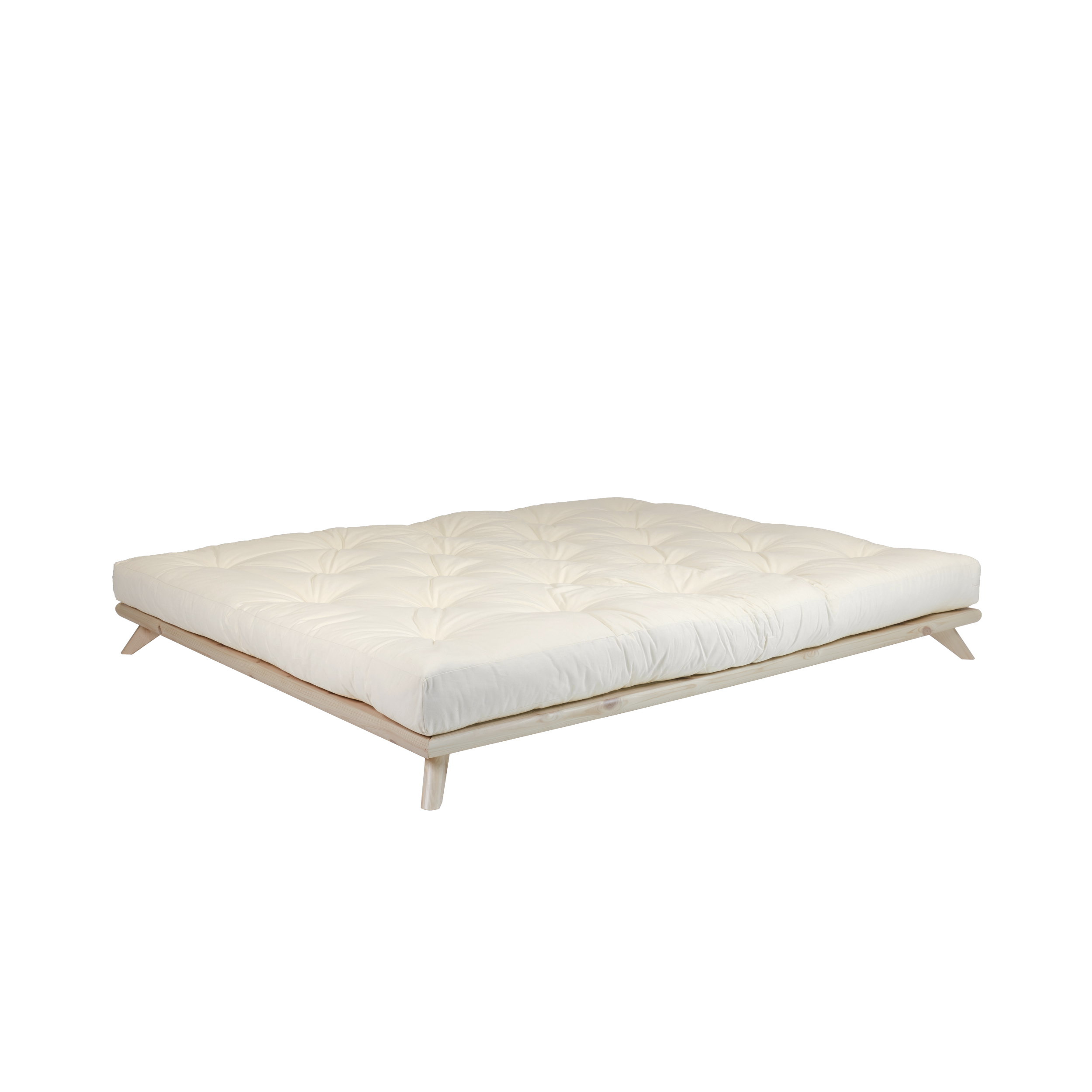 senza bed natural s futonem